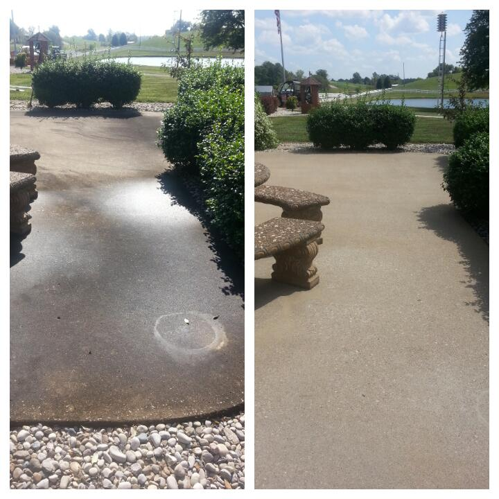 Pressure Washing in Owensboro KY