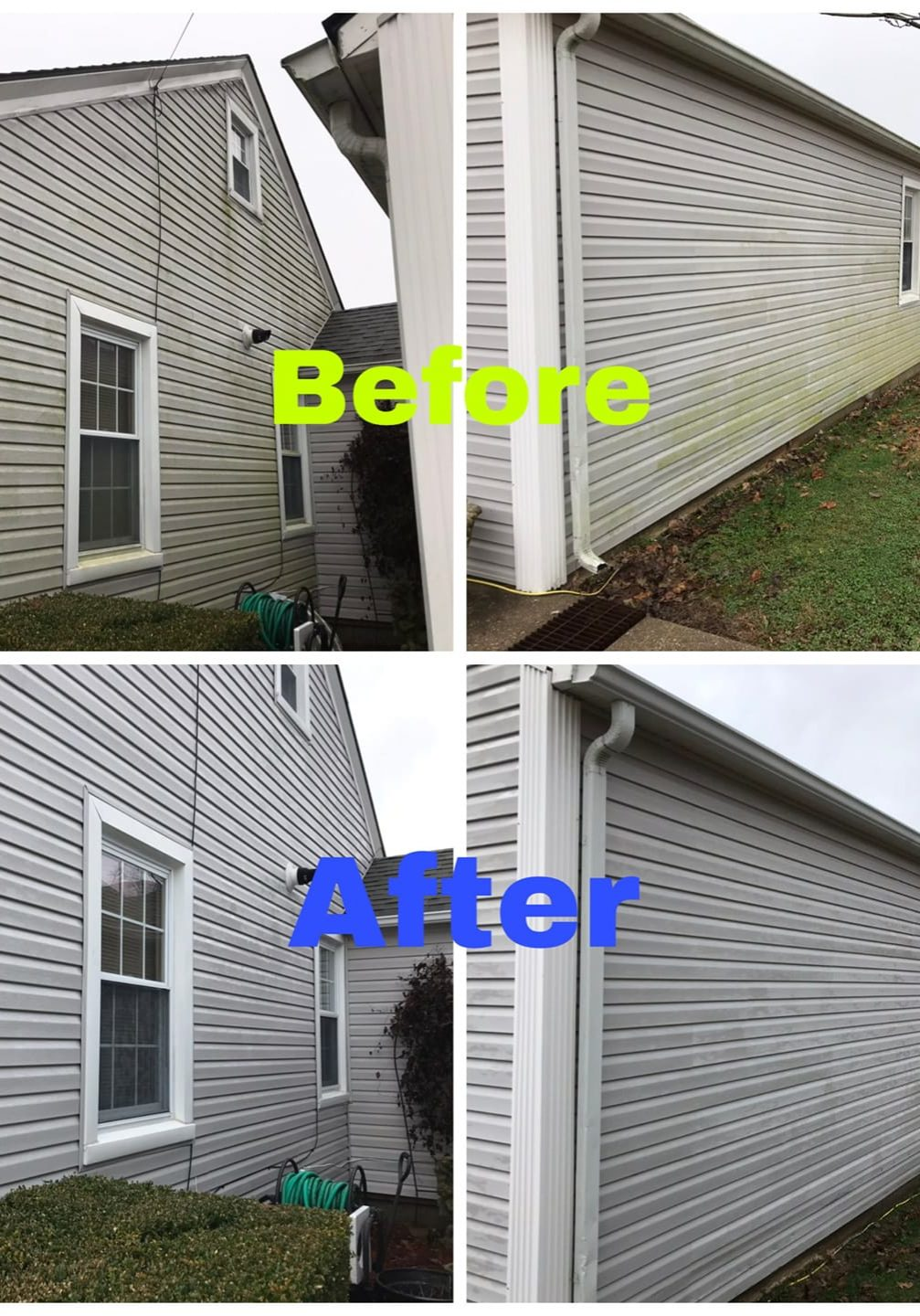 Your home is undoubtedly your pride and joy and we know that you want it to look its best at all times. But with exposure to the weather and other factors, it is easy for your home to begin to look dirty and less than well maintained. However, our professional House Washing in Owensboro KY service will improve the appearance of your home and instantly restore that lost curb appeal, making your home stand out from the crowd - for a good reason!